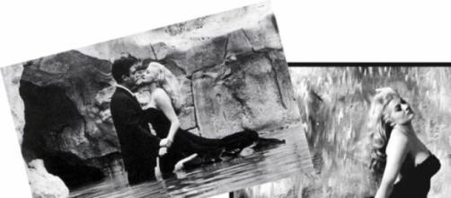 """Anita Ekberg nel film """" La Dolce Vita """""""