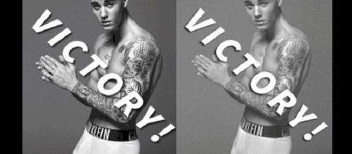 Justin Bieber en las controversiales imágenes