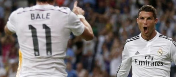 Cristiano Ronaldo y Gareth Bale