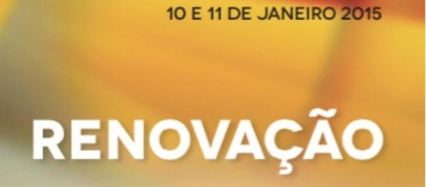 Detalhe do cartaz do XV Congresso do PSD Madeira