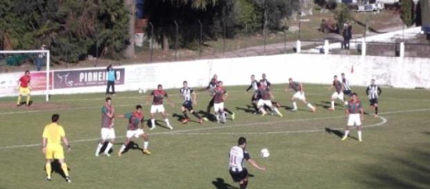 Golo de Ricardo Pires chegou para a vitória