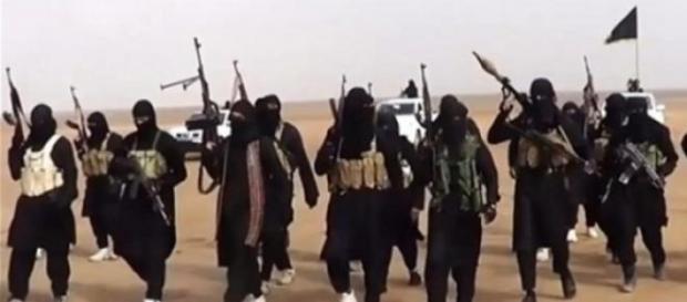 Militanti dell'Isis in azione