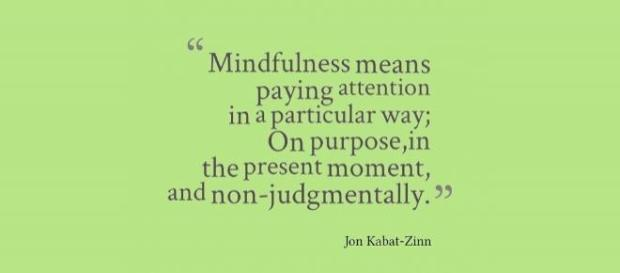 Mindfulness -a a definition of Mindfulness