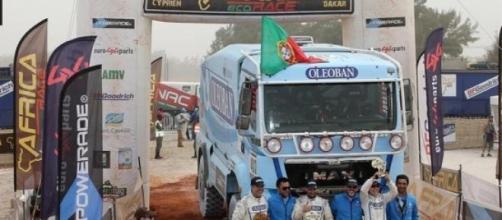 Camião luso chegou ao fim em Dakar