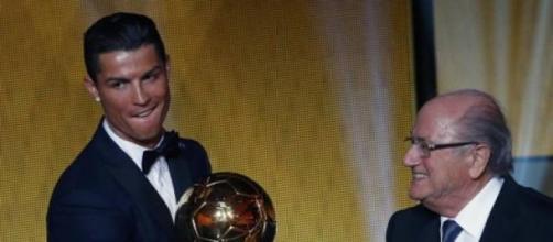 Cristiano Ronaldo,vincitore del Pallone d'Oro 2014