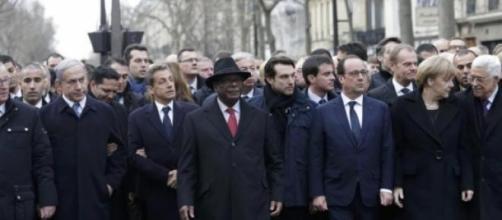 Los grandes representantes europeos estaban allí