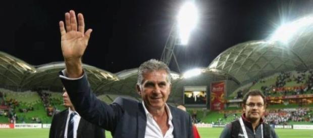 Carlos Queiroz vitorioso na estreia