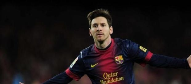 LIonnel Messi en plan grande