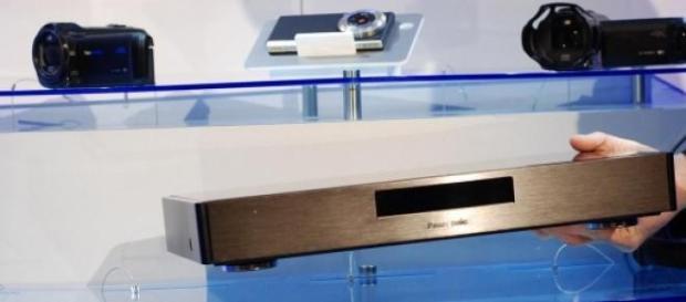 Panasonic Ultra HD Blu-Ray (Clic ampliar imagen)