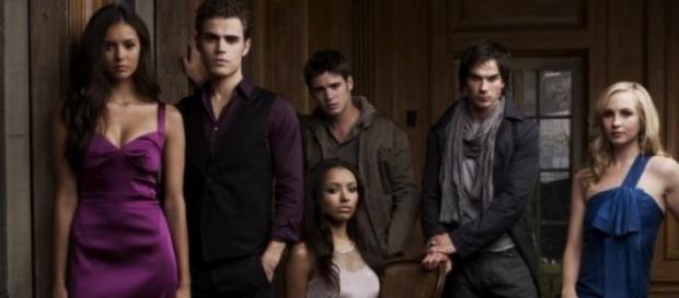 Protagonistas de la serie 'The Vampire Diaries'