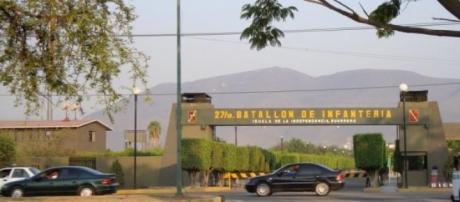 27 Batallón de Infantería, en Iguala, Guerrero