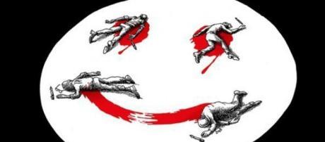 Attentato al Charlie Hebdo: un'illustrazione