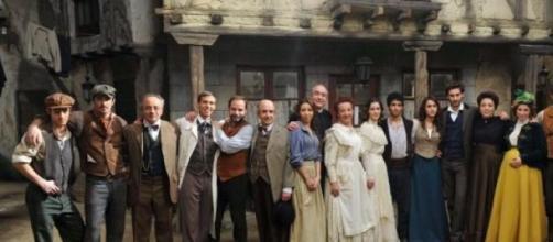 L'intero cast della soap Il Segreto