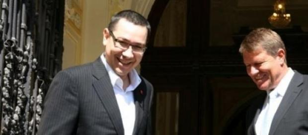 Klaus Iohannis evaluat de Victor Ponta