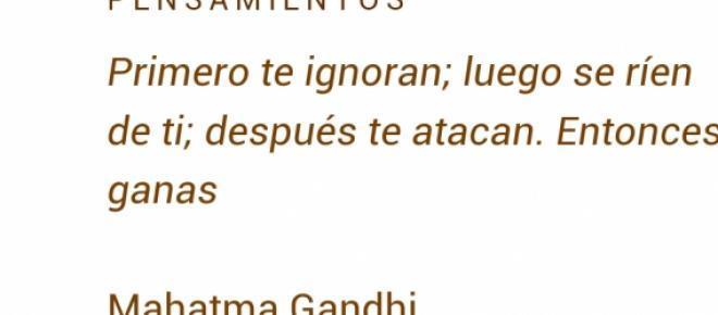 Esta frase describe  el camino de Podemos