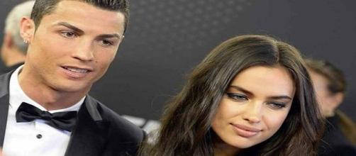 Cristiano Ronaldo y su novia Irina Shayk