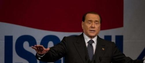 il leader del Partito Forza Italia Berlusconi