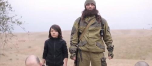 Trecho do último vídeo do Estado Islâmico