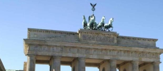 Anti-Terror Kundgebung am Brandenburger Tor.