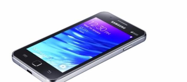 Este es el Samsung Galaxy Z1.