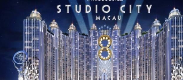 La Studio City cinese in costruzione a Macao