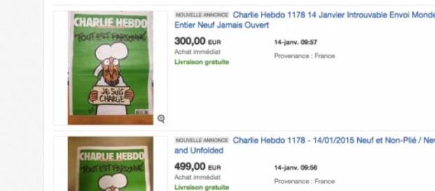 Les prix s'envolent sur eBay!