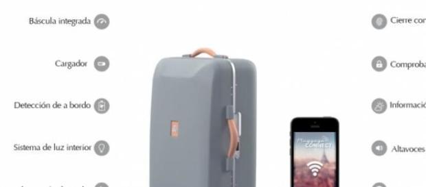 Plugagge, la maleta futurista.