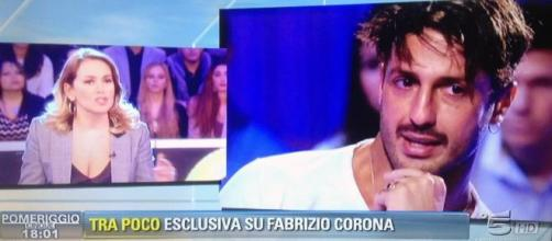 Barbara d'Urso, pace fatta con Fabrizio Corona