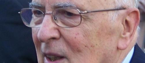 Ex presidente della Repubblica Giorgio Napolitano