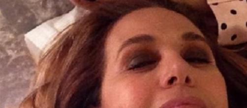 Incidente domestico per Barbara d'Urso - instagram