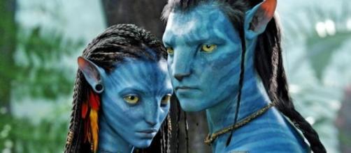 Los personajes de Avatar Jake Sully y Neytiri