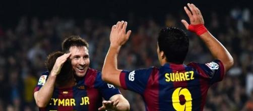 MSN - Messi, Suárez e Neymar