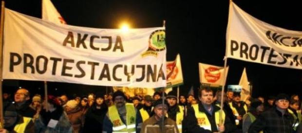 Górnicy są nieugięci -protesty nie ustają.
