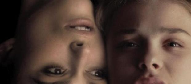 Keira Knightley com Chloë Grace Moretz.