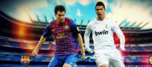 Messi e Cristiano Ronaldo, os melhores do mundo