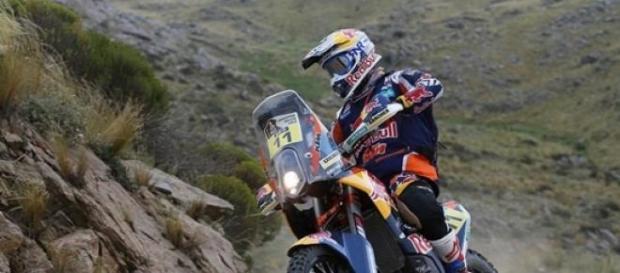 Rúben Faria voltou aos bons tempos no Dakar