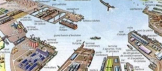 Maquette du port en eau profonde de Limbe