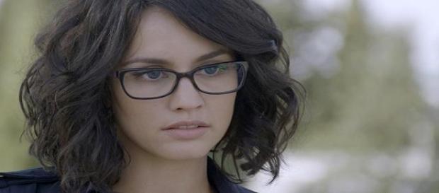 Maria Fuentes nella foto
