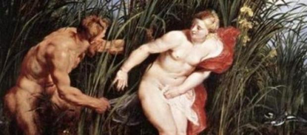 Pan et Syrinx de Rubens 1 617