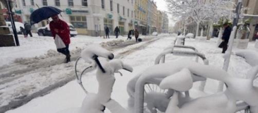 Se esperan fuertes nevadas en la capital