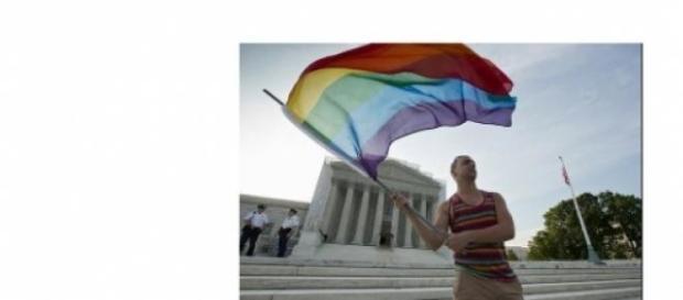 Homossexual em frente à suprema corte americana