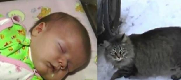Masha è diventata un eroe salvando un bambino