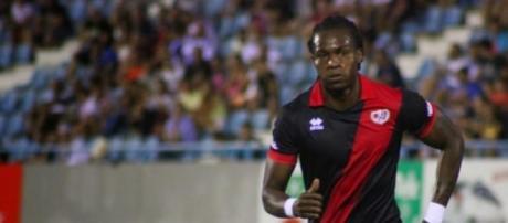 Manucho anotó el gol del triunfo para el Rayo