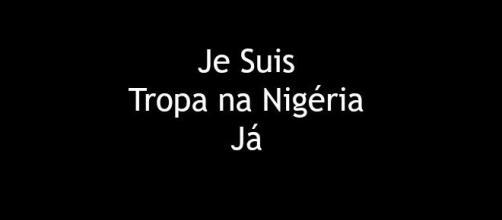 Contra o Boko Haram, marchar!