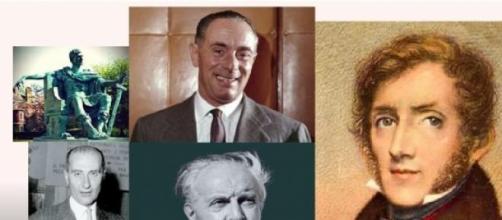 Costantino, Montanelli, Ponti, Mattei e Manzoni