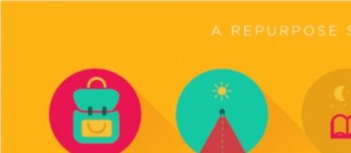 Imagem do website repurposeschoolbags