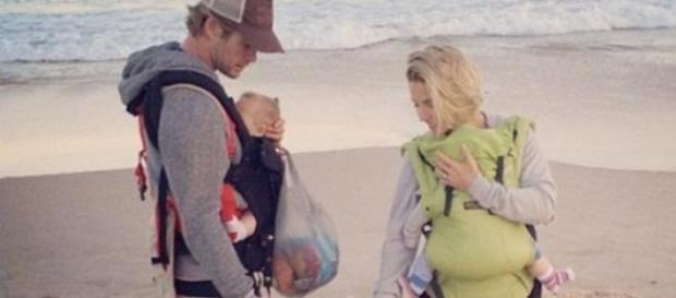 Elsa y Chris disfrutan de Australia con sus hijos