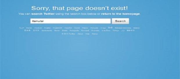 Oscurato l'account Twitter di un blogger arrestato