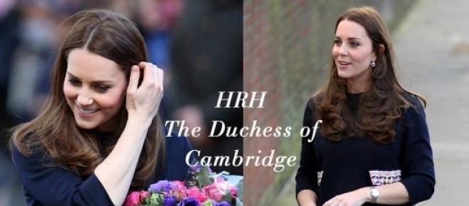 Imagem de Kate Middleton publicada no Facebook oficial da marca «Madderson London».