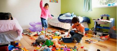 A messy child's bedroom is not so bad